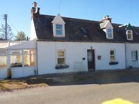 Refurbished traditional two bedroom cottage for sale or rent in Templeford, Largue Near Huntly