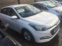 As New Hyundai i20. 1.2 petrol air edition 66 reg only 1400 Miles