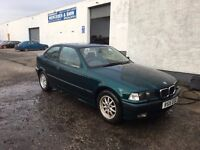 [Simmons BMW] BREAKING - BMW E36 3 series 316i Compact Boston Green - Parts Spares