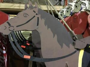 Decorative Horse - National Promotional RCMP - Royal Canadian Mounted Police Steel Horse AUCTION - STOREY'S