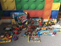 Huge Lego bundle superhero, Lego city, racers etc