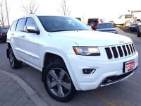 2014 Jeep Grand Cherokee ***OVERLAND***3.0L V6 DIESEL***PANORAMI