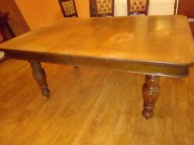 Dining table unextended size 5.5feet -extends to7 feet or 10feet as required
