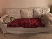 Two free IKEA ektorp three seater sofas