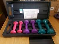 V fit weights