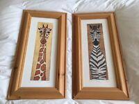 Original Animal Prints by C Davis