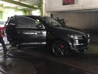 Q7 sline tdi Quattro 1 owner 1 year labour+parts warranty full history