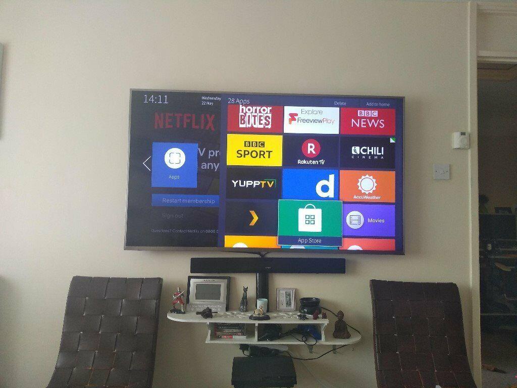 Hisense 65 Inch 4K Ultra HD Smart TV | in Eastbourne, East Sussex | Gumtree