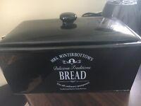 Mrs Winterbottoms black bread bin