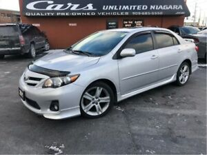 2011 Toyota Corolla XRS   NO ACCIDENTS   ROOF   HEATED SEATS ...