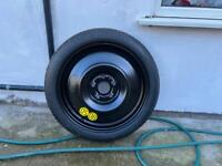 Space saver tyre new