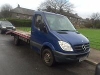 2008 RECOVERY TRUCK 311 CDI-SPRINTER, *FINANCE AVAILABLE*, FSH, LONG MOT