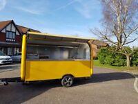 Mobile Catering Trailer Burger Van Pizza Trailer Ice Cream Cart 3400x1650x2300