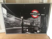 Large IKEA Piccadilly underground station picture