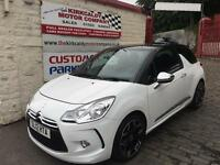 CITROEN DS3 1.6 HDi 110 DSport Plus (white) 2012