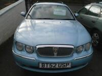 ROVER 75 2.0 CDT Club SE 5dr WILL HAVE NEW MOT BMW 2.0 DIESEL ENGINE. �1195 (blue) 2003