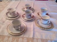 Assorted Vintage crockery mix and match
