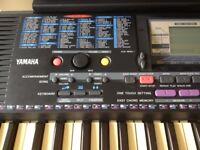 Yamaha Portatone PSR 220 Electronic Keyboard with Sturdy Adjustable Height Stand & Manual
