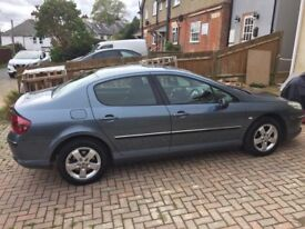 Peugeot 407 dark grey 2.0 diesel saloon