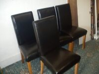 Black Dining Chairs ID 118/6/18