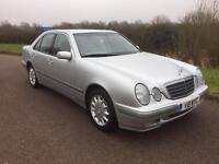 Mercedes-Benz E Class 2.6 E240 Elegance 4dr Very Low Mileage