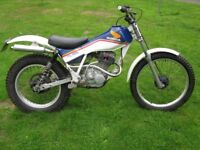 Honda TL/TLR 125, big bore 166cc, twinshock trials, road registered