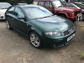 2003 53 plate Audi A3 2.0 fsi sport only £1195