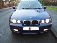 BMW 316 Ti COMPACT AUTOMATIC 3 DOOR SELLING SPARES OR REPAIRS HENCE THE PRICE 51 PLATE SEE FULL AD