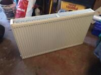 Double convector central heating radiator