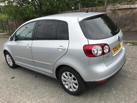 VW GOLF PLUS, 66K, SILVER, 5 DOOR, 1.4, PETROL