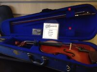Violin full size with shoulder rest