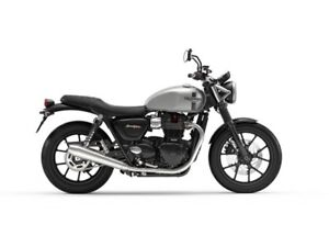 2018 Triumph Street Twin $800 Voucher and O% for 48 Months OAC