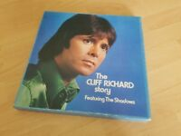 The Cliff Richard Story featuring the Shadows LP Vinyl Box Set