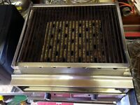 Charcoal Grill - Gas 3 Burner