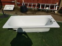 Steel bath 1500 x 1700 very good condition