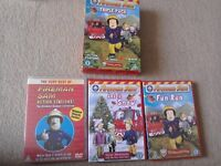 Fireman Sam DVD Boxset Action Stations + Let it Snow + Fun Run Older version of the character