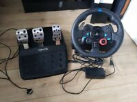 Logitech G29 Wheel and Pedals for PC/PS4/PS3