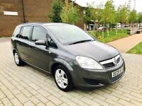 VAUXHALL ZAFIRA 1.6 EXCLUSIV 5d 105 BHP NO ADVISORIES AND LOW RATE (grey) 2009