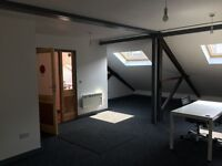 300 sq ft First Floor office/studio space, Montpelier. Good lighting and open plan.Possible sharing.