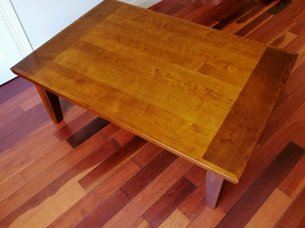 Solid Cherry Wood Coffee Table In Randalstown County Antrim Gumtree
