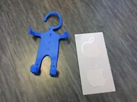 Mobile phone flexi holder + 2 Apple logo stickers_£2 for ALL
