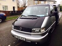 VW LEFT HAND DRIVE VW CARAVELLE LEFT HAND DRIVE 9 SEATER AUTOMATIC PETROL LEATHERS SEATS DVD
