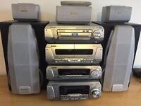 Technics stack system DVD/radio/cd player