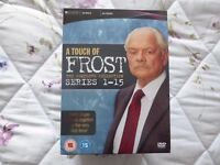 A Touch of Frost DVD Series 1-15