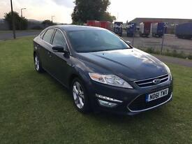 61 REG FORD MONDEO 1.6 TDCi ECO TITANIUM 5DR-START/STOP-VERY ECONOMICAL-GREAT LOOKING CAR-DRIVES WEL