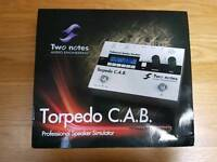 Torpedo CAB pedal (NOT Torpedo Live)