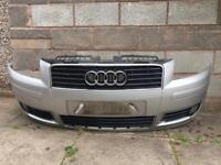 Audi A3 2004 front bumper single grill pre facelift