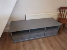 IKEA Liatorp Grey TV bench/stand
