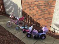 OUTDOOR TOYS - BIKE- SCOOTER
