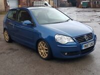 2008 VOLKSWAGEN POLO 1.4 TDI, DIESEL, MANUAL, FULL MOT, REMAPPED TO 156BHP, VERY FAST, £30 ROAD TAX!